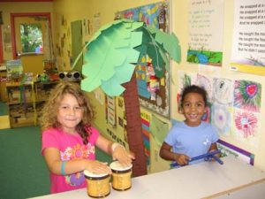 Music and art for children