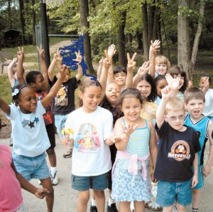 School children in Newark, DE