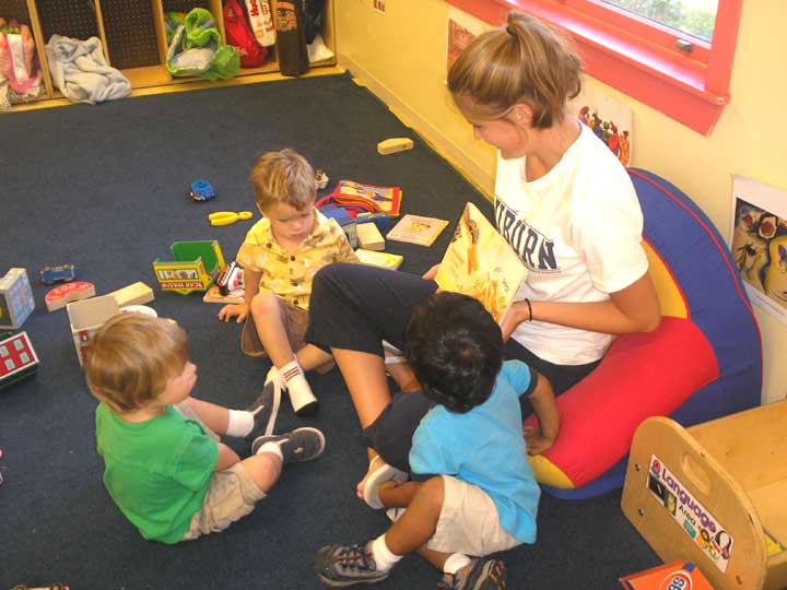Toddlers school program
